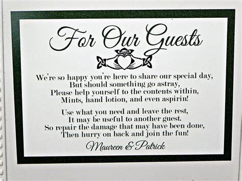 printable sign wedding bathroom basket sign claddagh