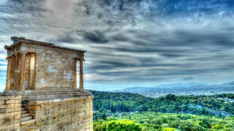 temple  athena nike acropolis athens greece