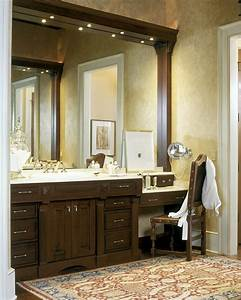 Terrific makeup vanity table decorating ideas gallery in for Master bath vanity design ideas