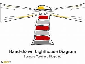 Hand Drawn Lighthouse Diagram