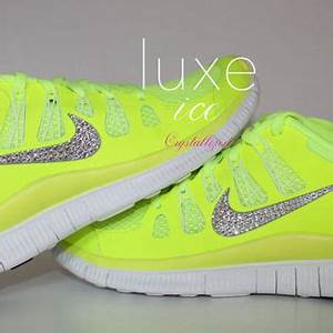NIKE run free 5 0 running shoes w Swarovski Crystals