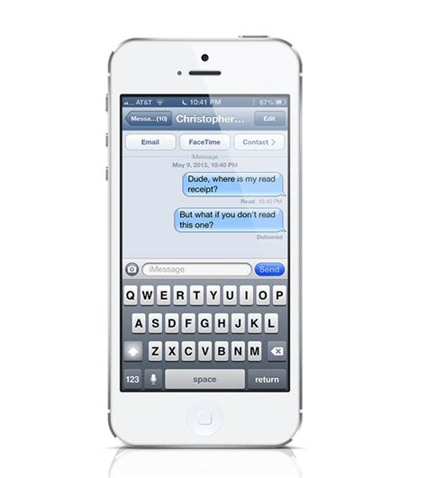 read messages on iphone how to get read receipts in imessage