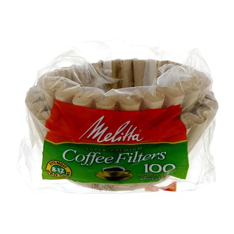 Paper filters for reusable k cups,500 pcs disposable paper coffee filters w w6y6. Melitta Basket Coffee Filters, 8-12 Cup, Natural Brown Unbleached Paper - Shop Coffee Filters at ...