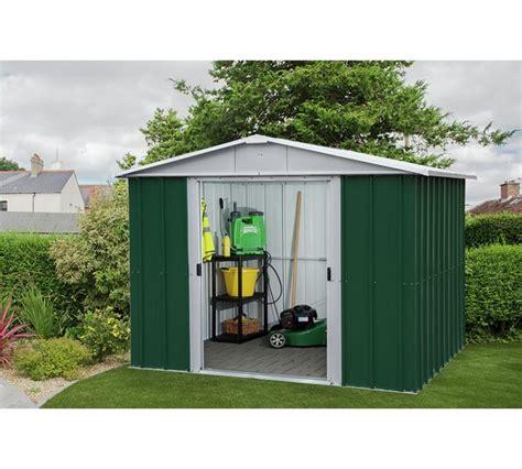 sheds at argos buy yardmaster metal shed 8 x 6ft sheds argos