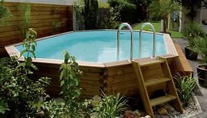 Enterrer Une Piscine Hors Sol : charme et nature la piscine bois piscines hydro sud ~ Melissatoandfro.com Idées de Décoration