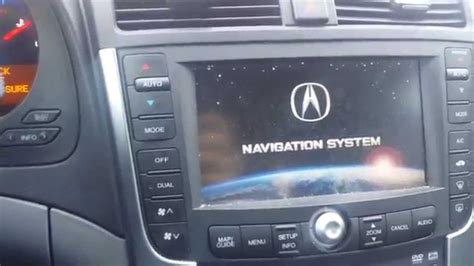acura tl navigation problem easy fix youtube