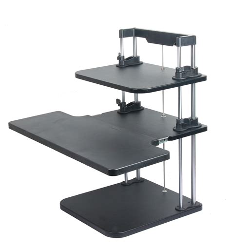 stand up office desk height width adjustable computer laptop standing desk