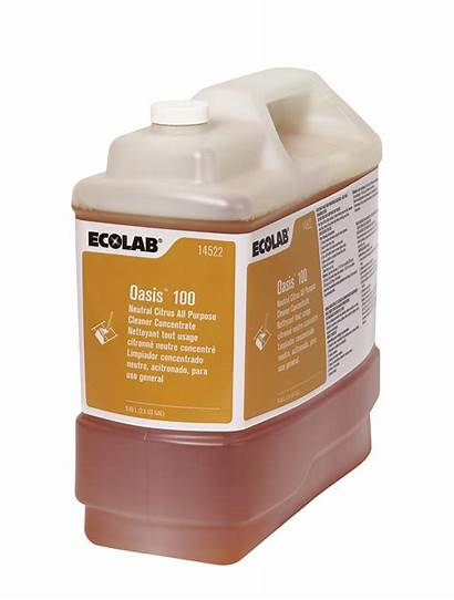 Cleaner Oasis Floor Neutral Ecolab Purpose Number