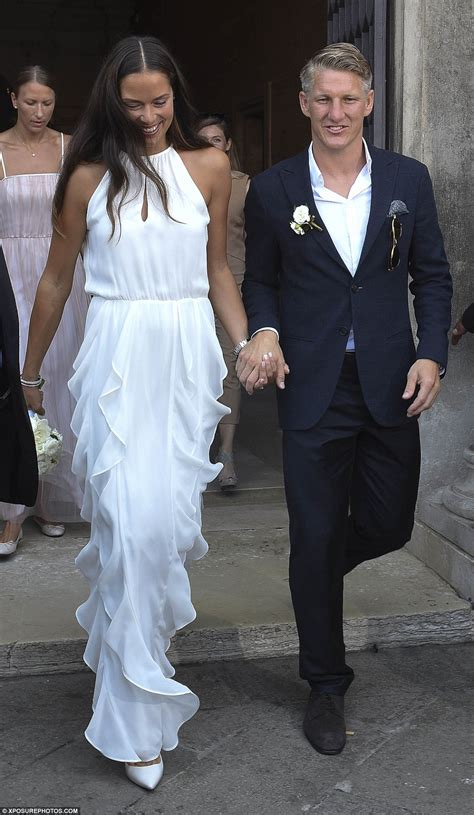 ana ivanovic marries footballer bastian schweinsteiger