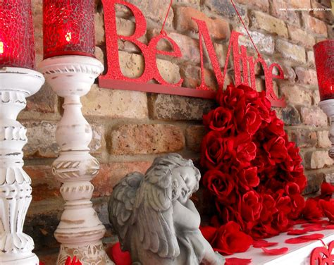 inexpensive decorations  st valentines day