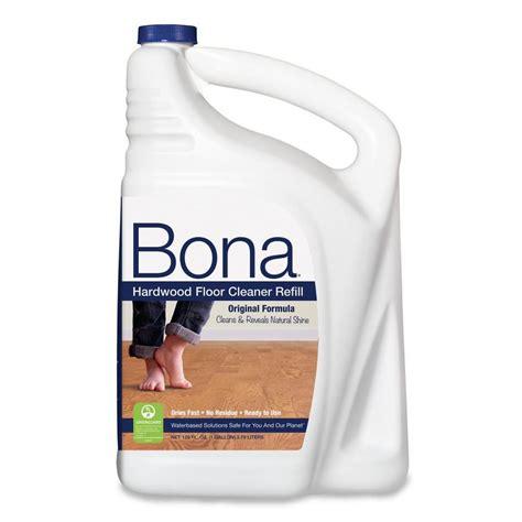 bona hardwood floor cleaner shop bona 128 fl oz wood cleaner at lowes com