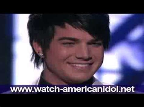 adam lambert feeling good adam lambert quot feeling good quot muse version american idol 8