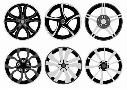 Vector Alloy Wheels Wheel Clipart Pack Vectors