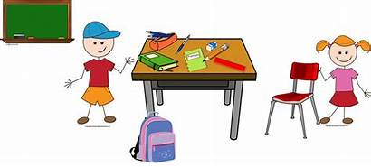 Objects Classroom French Une Un Trousse Cahier