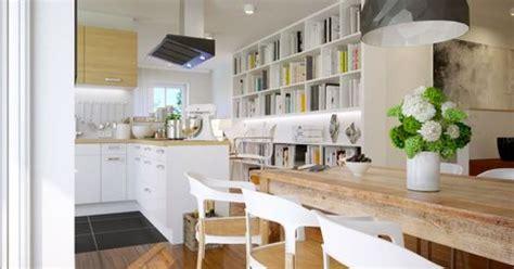 image cuisine ouverte sur salon délimiter une cuisine ouverte sur le salon