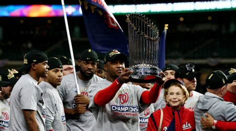 world series  washington nationals defeated houston