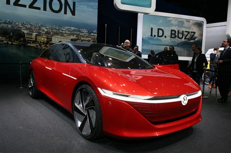 volkswagen id vizzion concept   family sedan