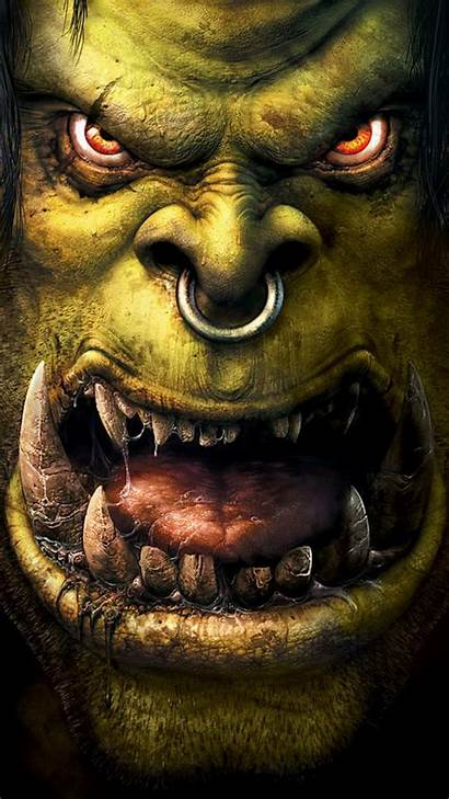 Orc Warcraft Iphone Android Wallpapers Wow Htc