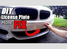 Do Bumperplugs work? DIY front license plate hole covers