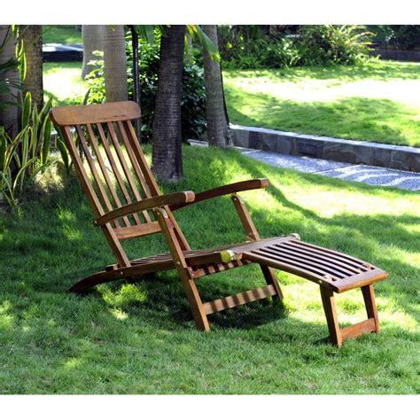 chaises en teck chaise longeu en teck transat de jardin