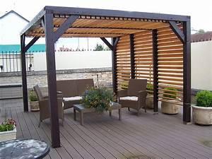 Fabriquer Pergola Bois : fabriquer un kiosque de jardin ~ Preciouscoupons.com Idées de Décoration