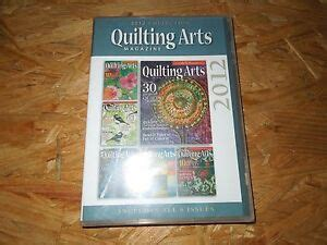 quilting arts magazine  collection cd rom  ebay