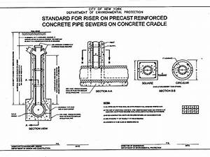 A Sewer Riser Connection Must Be Built To Dep Standards
