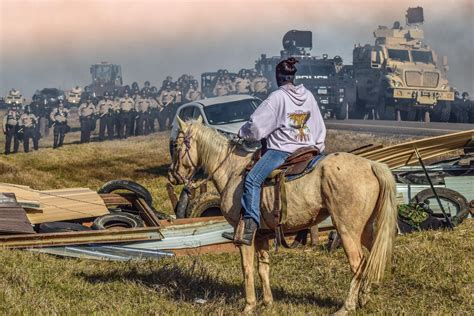The One Iconic Photo That Encompasses The Essence Of The Standing Rock Protest Fstoppers