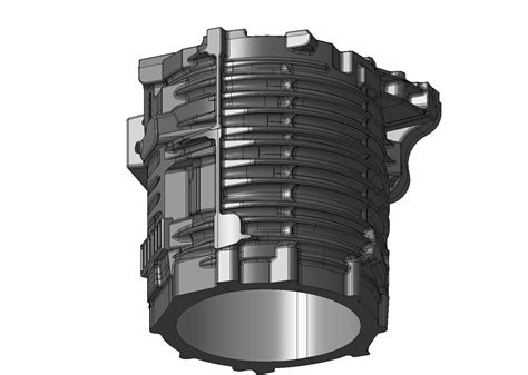 Electric Motor Housing by Major Contract For Rheinmetall Electric Motor Housings