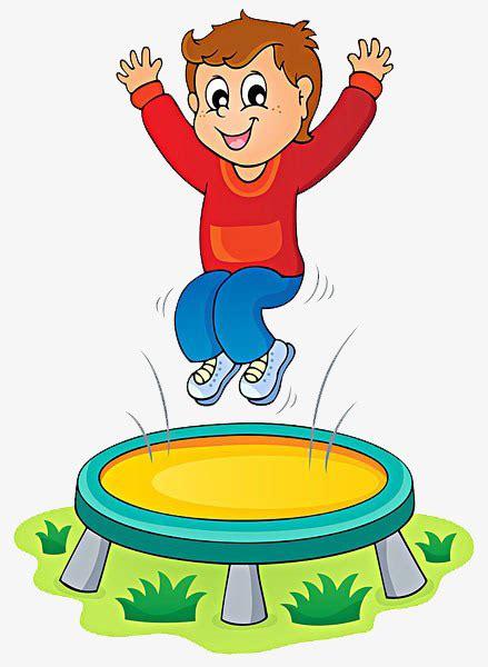Child Jumping Trampoline, Child, Trampoline, Happy PNG ...