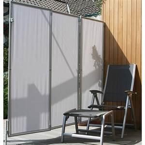 floracord paravent sicht und windschutz hell silbergrau With garten planen mit balkon regenschutz plexiglas