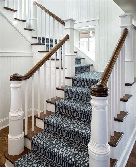 beautiful stair runner fabricated  stantons baltimore