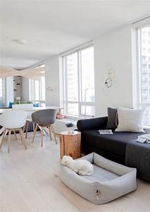Gemütliche Wohnzimmer Farben : skandinavisch einrichten mit hellen farben und holzt nen ~ Markanthonyermac.com Haus und Dekorationen
