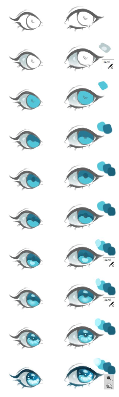 anime eyes tutorial anime eyes coloring tutorial vol 2 by haloblabla on deviantart