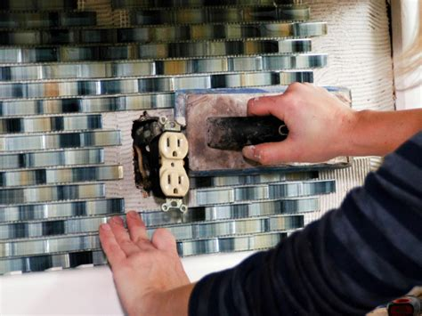 how to install glass tiles on kitchen backsplash how to install a tile backsplash how tos diy