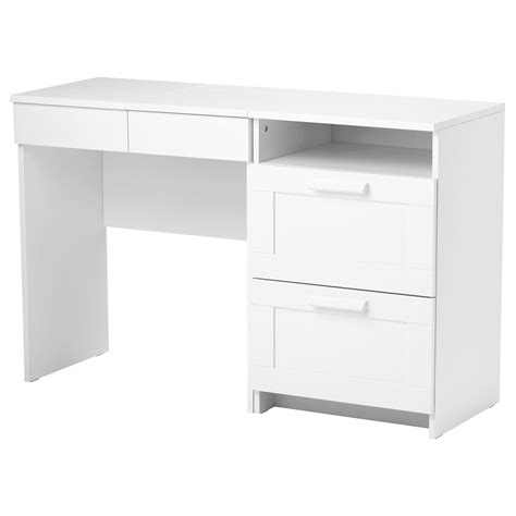 ikea white desk with drawers brimnes dressing table chest of 2 drawers white ikea