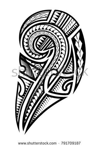 maori tattoo stock images royalty  images vectors