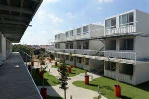 cottage house designs students build sustainable housing from containers israel21c