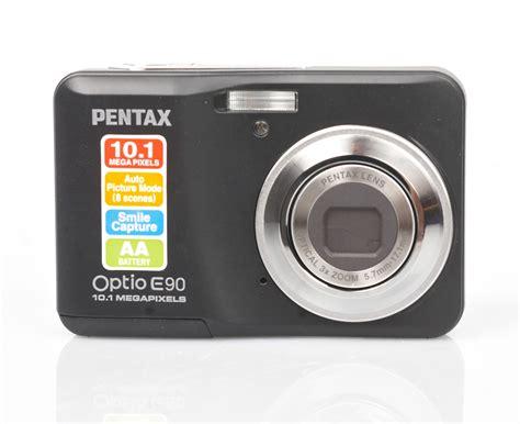 Pentax Optio E90 Digital Camera Review
