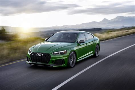 2019 Audi Rs5 by Official 2019 Audi Rs5 Sportback Gtspirit