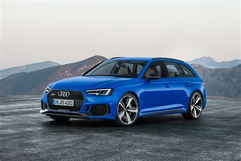 Audi Rs 4 2017 by 2017 Frankfurt Motor Show Audi Rs4 Avant Returns With