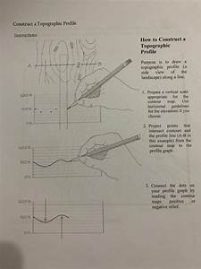 Solved  Construct A Topographic Profile Instructions  How