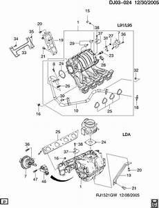 Chevrolet Aveo Seal  Multi Port Fuel Injection Throttle