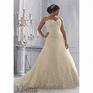 julietta by mori lee 3167 strapless lace a line plus size With mori lee plus size wedding dresses