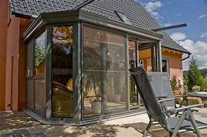 Wintergarten 2 Stöckig : aluminium wintergarten wikoma ~ Markanthonyermac.com Haus und Dekorationen