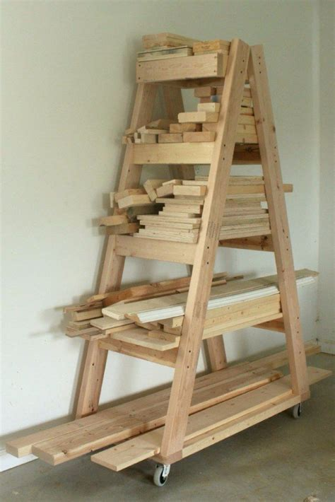 lumber storage ideas  pinterest lumber storage rack wood storage rack  diy