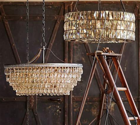new pottery barn handmade adeline adeline crystal chandelier pottery barn