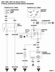 1995 Nissan Pick Up 2 4 Wiring Diagram : ignition system wiring diagram 1995 1997 2 4l nissan altima ~ A.2002-acura-tl-radio.info Haus und Dekorationen