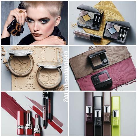 osennyaya kollektsiya makiyazha dior power  makeup collection fall  pervaya informatsiya