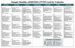Best photos of activity calendar template nursing home for Assisted living activity calendar template